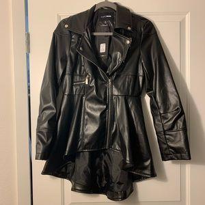 Black Peplum Jacket